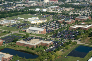 Aerial View of the University of Illinois Research Park